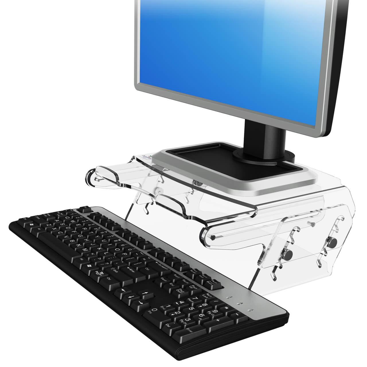 Monitormate ll met documenthouder