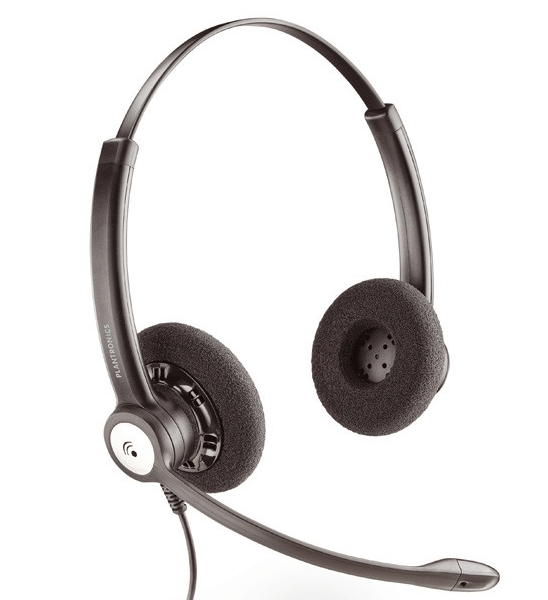 Plantronics Entera HW121N Binaural Headset ( demo model )