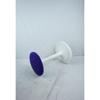Ongo Classic balanskruk met paarse zitting en wit frame