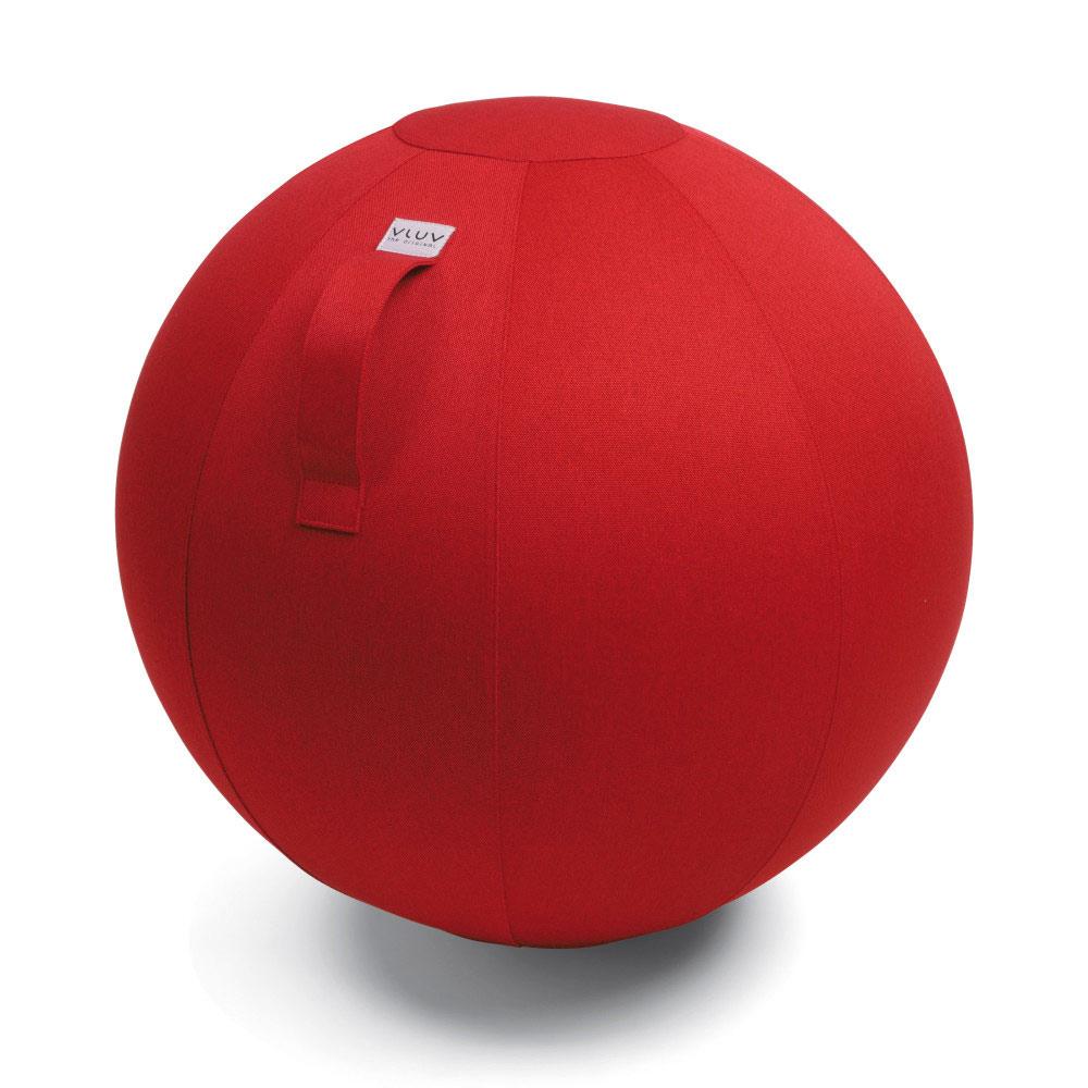 Vluv Leiv Zitbal 60-65 cm Ruby red