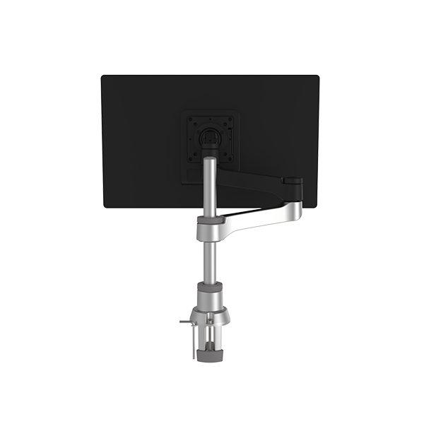 R-Go - Zepher - Circulaire flatscreenarm – Enkel - Voorkant met scherm