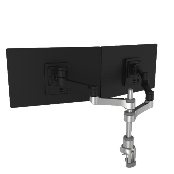 R-Go - Zepher - Circulaire flatscreenarm – Dubbel - Schuin