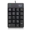 Adesso Numeriek toetsenbord AKB-601 USB zwart